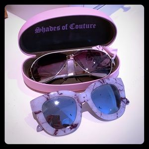 Bundle sunglasses juicy couture